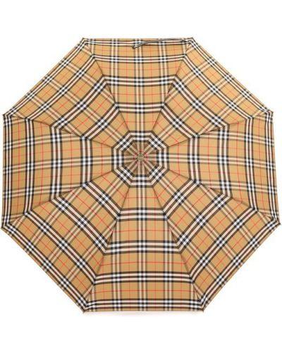 Зонт в клетку складной Burberry