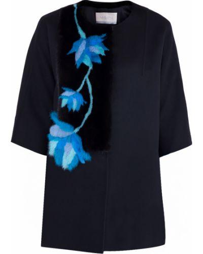 Пальто пэчворк шерстяное Mavina