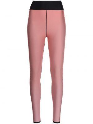Różowe spodnie z printem Ultracor