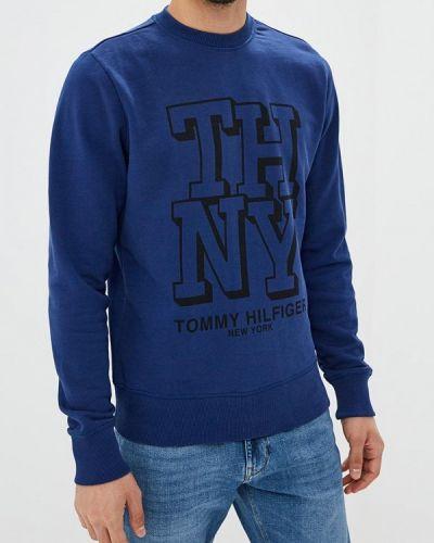 Синий свитшот Tommy Hilfiger