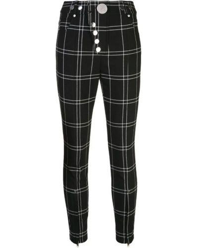 Czarne spodnie materiałowe Alexander Wang