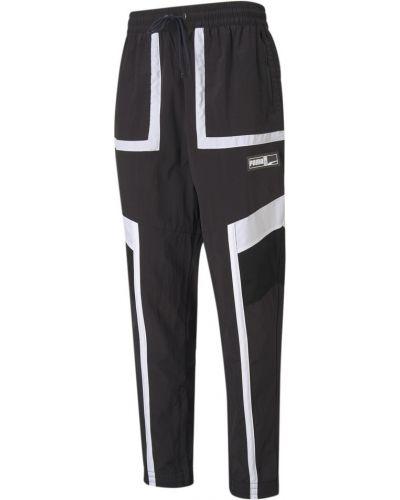 Черные баскетбольные брюки Puma