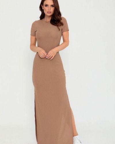 Бежевое платье-футболка Magnet