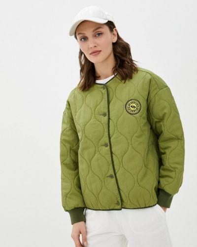 Куртка летняя хаки Quiksilver
