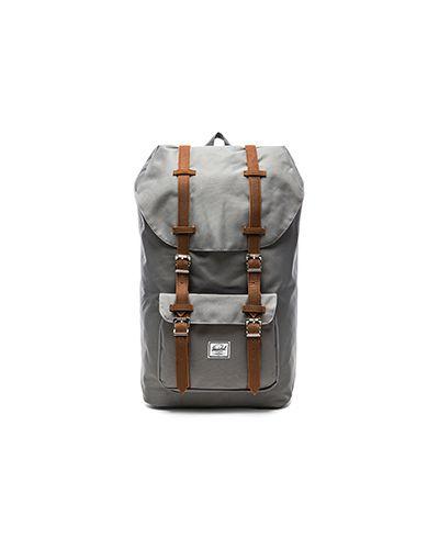 Рюкзак на молнии с пряжкой Herschel Supply Co.