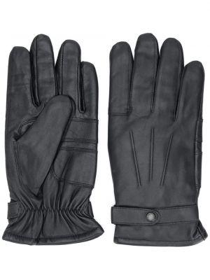 Перчатки черные эластичные Barbour