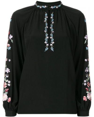 Блузка с вышивкой шелковая Vilshenko