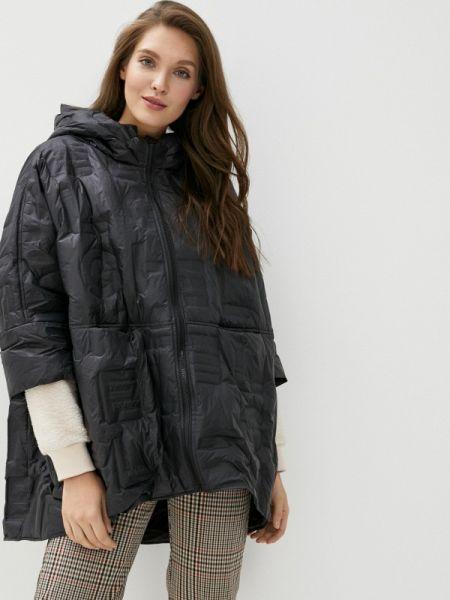 Зимняя куртка весенняя черная Clasna