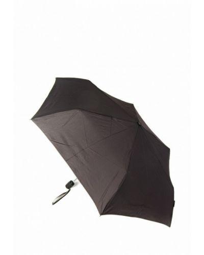 Коричневый складной зонт Pierre Cardin