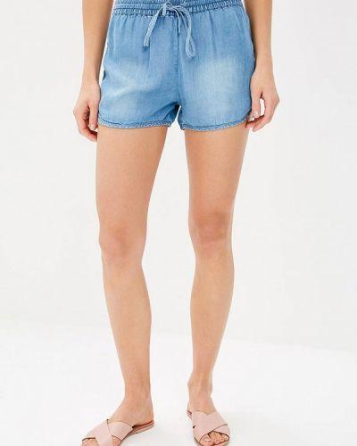 Голубые джинсовые шорты Modis