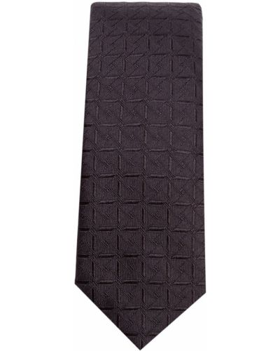 Черная шелковая резинка для волос с рисунком Dolce & Gabbana