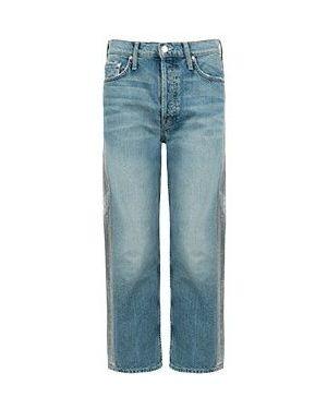 Прямые джинсы расклешенные Mother