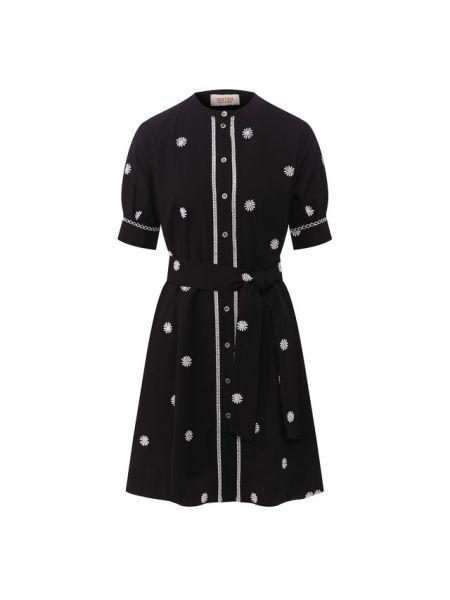 Хлопковое платье - черное Paul&joe