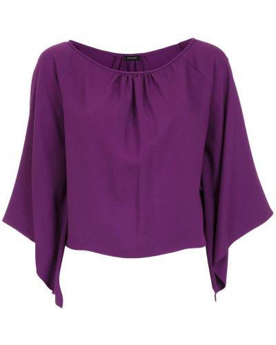 Блузка короткая - фиолетовая Tufi Duek