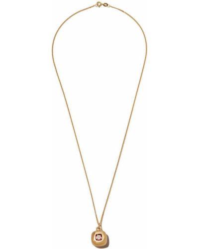 Złoty naszyjnik łańcuch - żółty Shola Branson