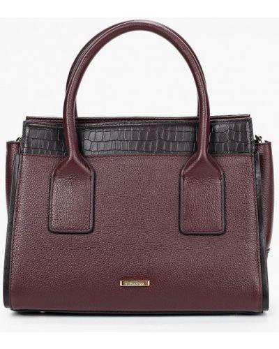 Красная сумка из натуральной кожи Eleganzza