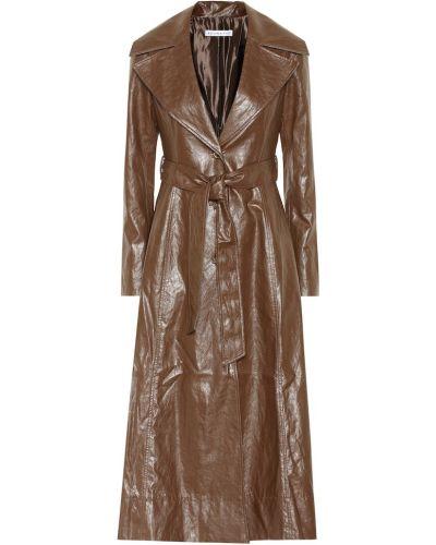 Коричневое пальто Rejina Pyo