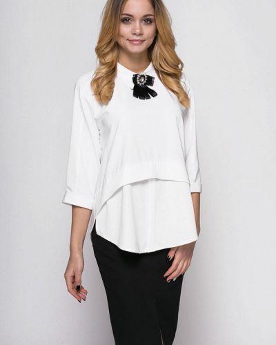 Юбочный костюм белый черный Zubrytskaya