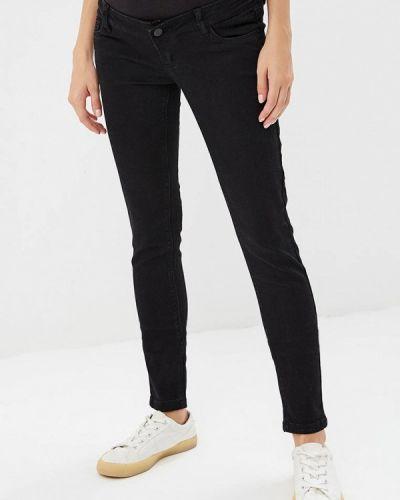 Черные джинсы с высокой посадкой Mama.licious