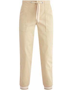 Спортивные брюки с лампасами с накладными карманами Ermanno Scervino
