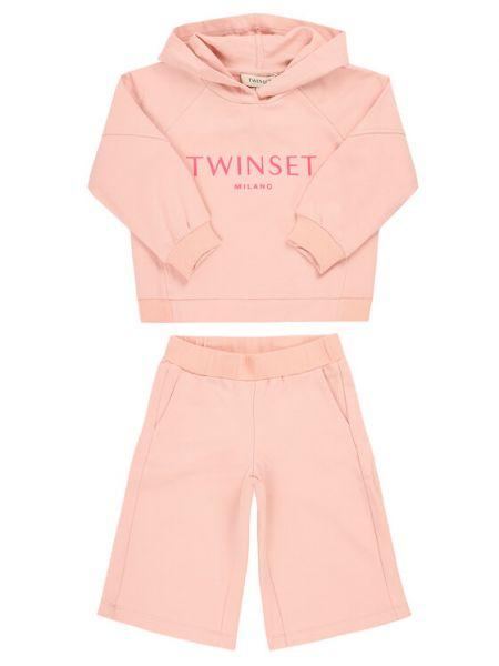 Różowy dres Twinset