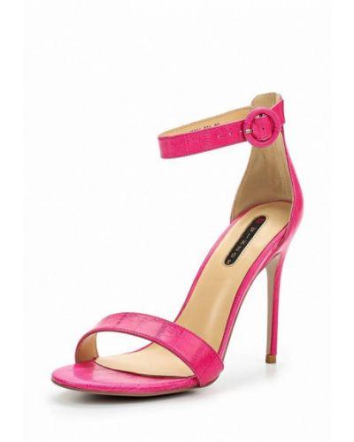 Розовые босоножки на каблуке Winzor