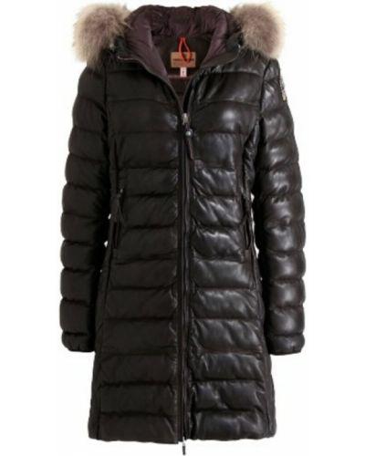 Czarny płaszcz Parajumpers
