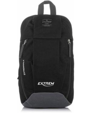 Czarny sport plecak do biegania w paski Producent Niezdefiniowany