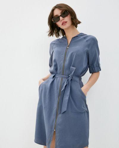 Повседневное платье - синее Sa.l.ko