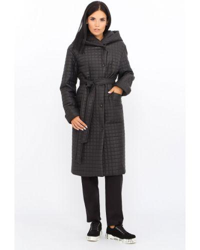 Стеганое пальто - черное Lari