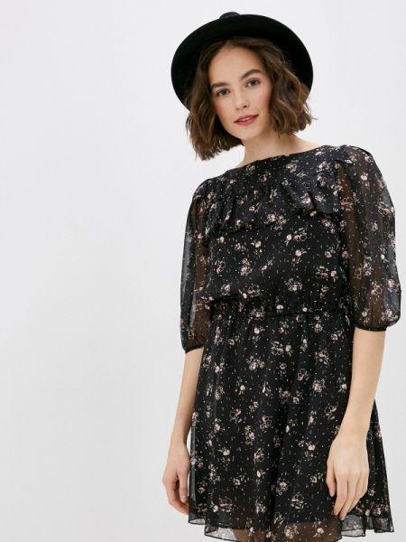 Платье прямое черное Miss Miss By Valentina