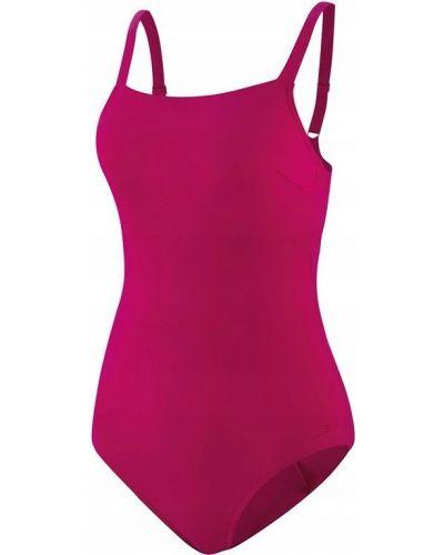 Różowy strój kąpielowy z nylonu Speedo