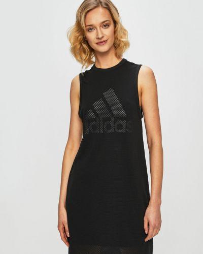 Платье мини прямое с вырезом Adidas Performance