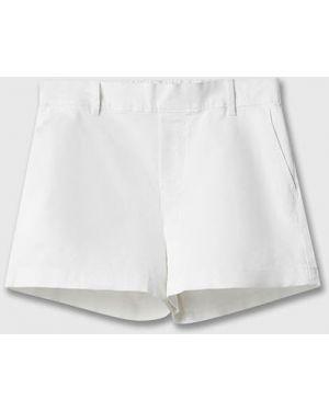 Базовые белые шорты с карманами Ostin