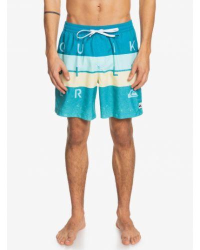 Boardshorty materiałowe z siateczką Quiksilver