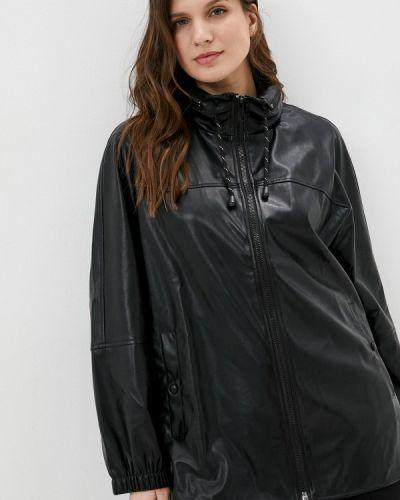Черная кожаная куртка Rosa Thea