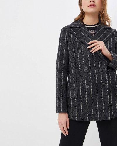 Пальто серое пальто форма