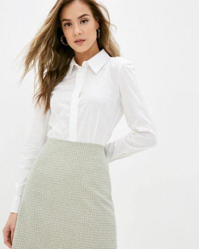 С рукавами белая рубашка Calista