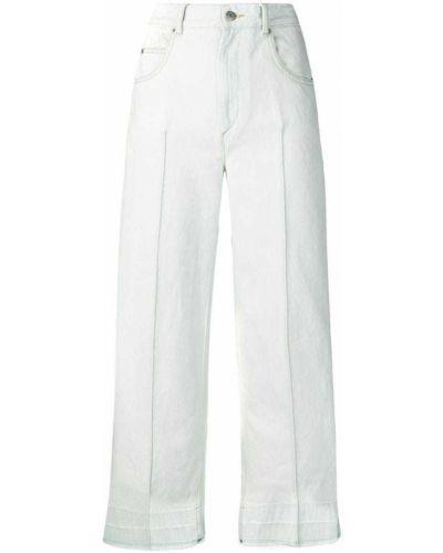 Широкие джинсы укороченные синие Isabel Marant étoile