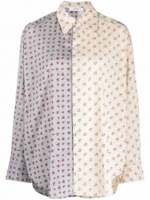 Хлопковая рубашка - серая Roseanna