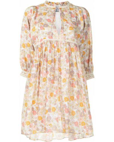 Платье мини с оборками с воротником в цветочный принт We Are Kindred