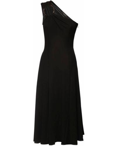 Трикотажное платье - черное Versace