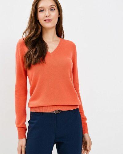 Оранжевый пуловер United Colors Of Benetton