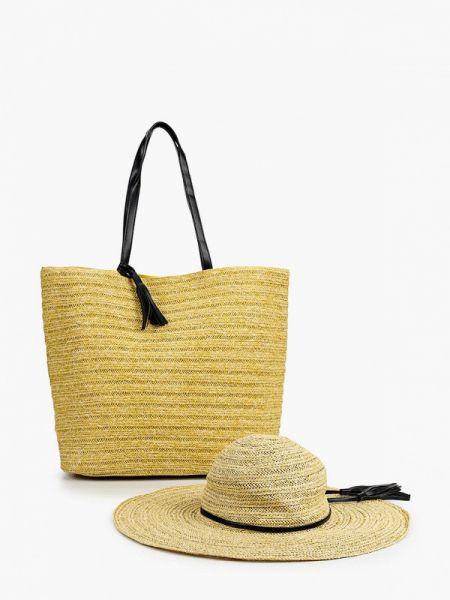 Пляжная сумка бежевый весенний Moltini
