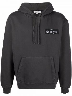 Czarny sweter bawełniany Phipps