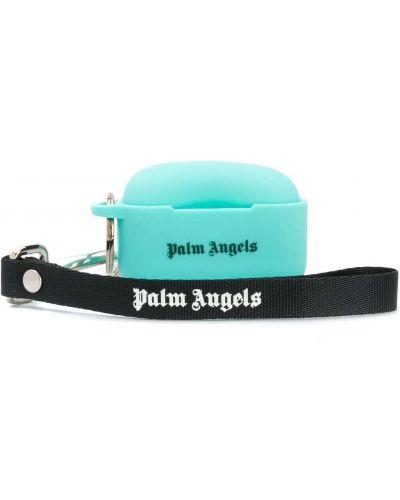 Światło czarny etui na klucze metal Palm Angels