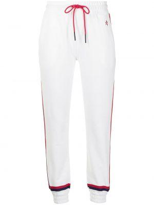 Спортивные брюки из полиэстера - белые Perfect Moment