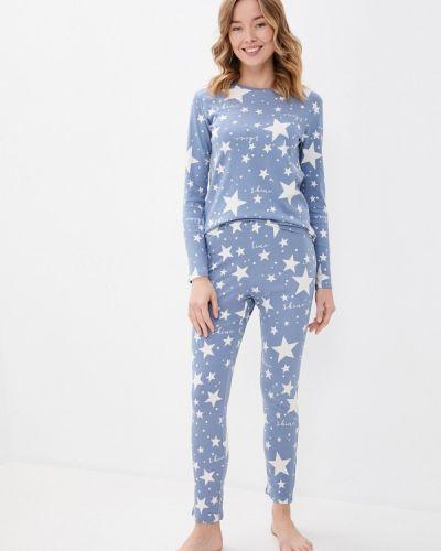 Пижамная синяя пижама Tezenis
