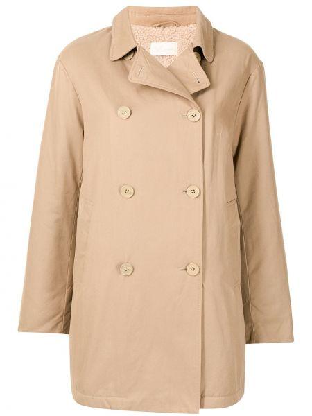 Длинное пальто - коричневое Mes Demoiselles