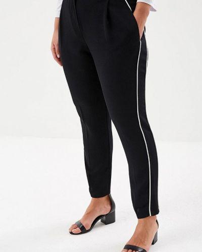 Черные зауженные брюки Topshop